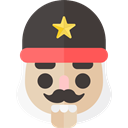 christmas, soldier, Holiday, xmas, nutcracker DarkSlateGray icon