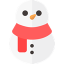Holiday, xmas, Snow, christmas, snowman WhiteSmoke icon
