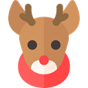 deer, reindeer, christmas, Holiday, xmas Peru icon