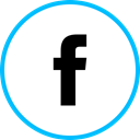 media, Logo, Facebook, Social DeepSkyBlue icon