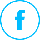 Social, media, Logo, Facebook DeepSkyBlue icon