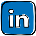 Linkedin, Social, job, social media, Communication, web icon, media, network DarkCyan icon
