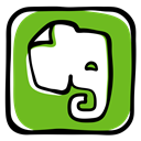 elephant, Evernote, memory, Social, Notebook, App, media, network OliveDrab icon