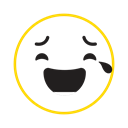 cool, smile, Emotion, Feel, emoticon icon Black icon