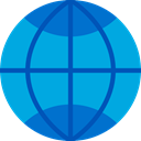 signs, Communications, Earth Globe, Earth Grid, Wireless Internet, Globe Grid, world, Multimedia, interface, worldwide, internet DeepSkyBlue icon