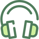 sound, Audio, Headphones, Headphone, technology, electronics, earphones DimGray icon
