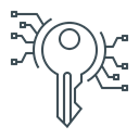 Key, password, keywords, Development Icon