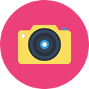 Camera, video, Cam, recoder IndianRed icon