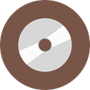 Compact, Disk, Data, storage DimGray icon