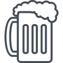 Holiday, patricks, day, beer, saint DarkSlateGray icon