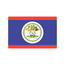 flag, Belize, Country, Nation Black icon