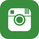Social, Communication, Instagram, Chat SeaGreen icon