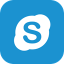 Social, Communication, Chat, Skype, Call DodgerBlue icon