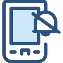 touch screen, mobile phone, cellphone, smartphone, technology, Communications DarkSlateBlue icon