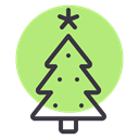 new, Tree, christmas, year, decoration, Celebration LightGreen icon