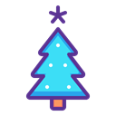 new, Tree, christmas, year, decoration, Celebration Icon