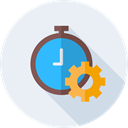time, Chronometer, Dollar, Stopclock, Time And Date Lavender icon