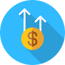 Business, Money, Coins, payment, profit, Profits, Get Money, Business And Finance DodgerBlue icon