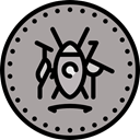 Cash, Currency, exchange, banking, Business And Finance, Business, Money, coin DarkGray icon