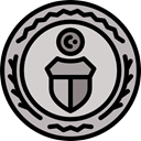 Business, Money, coin, Cash, Currency, exchange, banking, Business And Finance LightGray icon