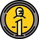 Business, Money, coin, Cash, Currency, exchange, banking, Business And Finance Gold icon