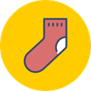 new, christmas, gift, year, clothing, sock Icon