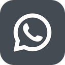 Whatsapp, ineraction, Chat, Social, Communication DarkSlateGray icon