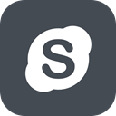 Chat, Skype, Social, Communication, ineraction DarkSlateGray icon