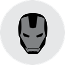 Superman, dc, Marvel, comics, Captain, ironman, free icon Lavender icon