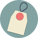 pin, Shop, sale, online, Label, tag, shopping LightSlateGray icon