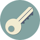 Key, open, security, Unlock, Protection, Door, protect LightSlateGray icon