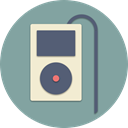 Multimedia, player, volume, gadget, music, Apple, ipod LightSlateGray icon
