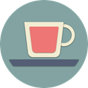 Coffee, cup, tea, drink, morning, Juice, Teacup LightSlateGray icon