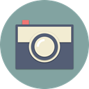 shooting, photograph, Camera, photo, picture, gallery, digital LightSlateGray icon