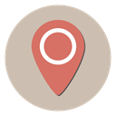 Map, navigation, Gps, location, Direction Silver icon