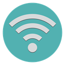 reception, Connection, Wifi, Communication CadetBlue icon