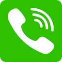 phone LimeGreen icon