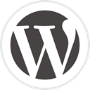 media, Logo, Wordpress, Social DarkSlateGray icon