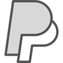 network, Logo, Social, paypal, Brand Gainsboro icon