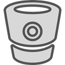 network, Logo, Social, Brand, Bitbucket Gainsboro icon