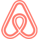 Brand, Airbnb, network, Logo, Social Salmon icon