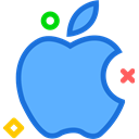 network, Apple, Logo, Social, Brand CornflowerBlue icon