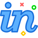 Invision, Logo, Social, Brand, network Icon
