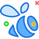 Logo, Social, Brand, swarm, network RoyalBlue icon