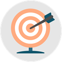 success, Target, Archery, skill, Achievement, productivity Icon