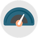 speed, performance, optimization, productivity, Efficiency Icon