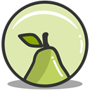 health, pear, nutrition PaleGoldenrod icon