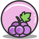grape, nutrition Thistle icon