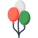 gaming, Balloon, balloons, decoration, Celebration, new year, Birthday And Party, birthday, party Icon