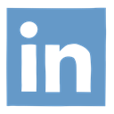 Linkedin, Social, Linked in, media, network, social media, professional network CornflowerBlue icon